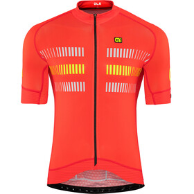 Alé Cycling Graphics PRR Strada Kortermede Sykkeltrøyer Herre rød
